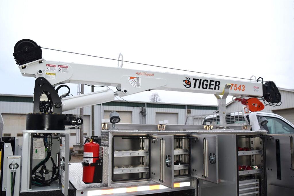 Tiger Crane 7543, Aluminum Propane Body